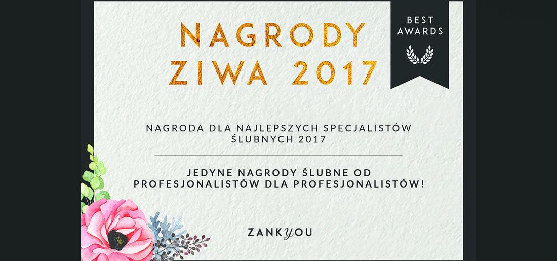 Światło i Emocje otrzymało nagrodę Zankyou International Wedding Awards de 2017!