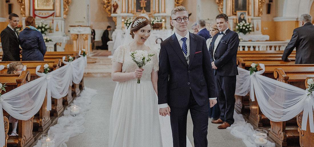 Agata i Karol – reportaż ślubny dwór Hulanka