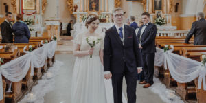 Agata i Karol - reportaż ślubny dwór Hulanka