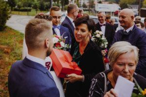 reportaz Bydgoszcz, przyjecie karczma Kujawska, kosciol Pw. Matki Bozej Krolowej Meczennikow, swiatlo i emocje, Marta i Szymon  (149)